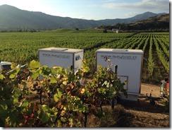 Baños portatiles para la vendimia viñedos viñas baños sustentables